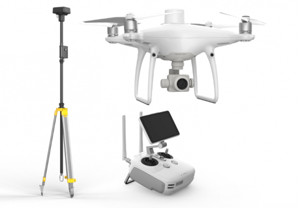 DJI Phantom 4 RTK + D-RTK 2 Mobile Station (EU Combo)