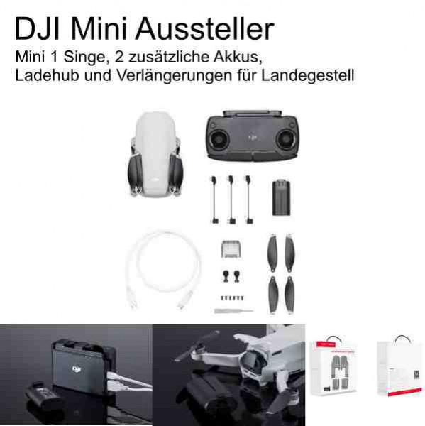 DJI Mavic Mini- Ausstellerdrohne & Akkus & Lader