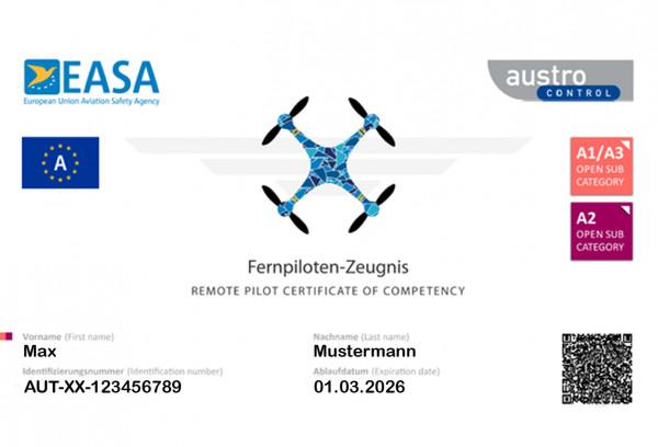 A2 EU-Drohnenführerschein
