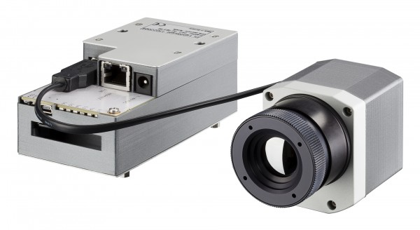 Optris PI LightWeight 640 IR Kamera + Optical GoPro Kamera für G4 Surveying Robot