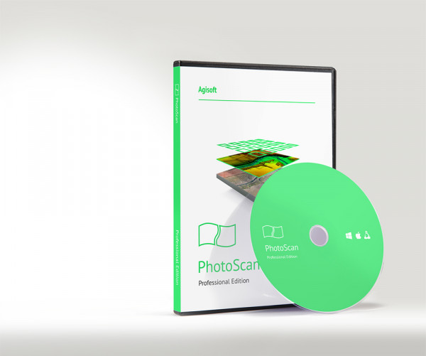 Agisoft PhotoScan- Stand Alone Lizenz / Pro- Edition